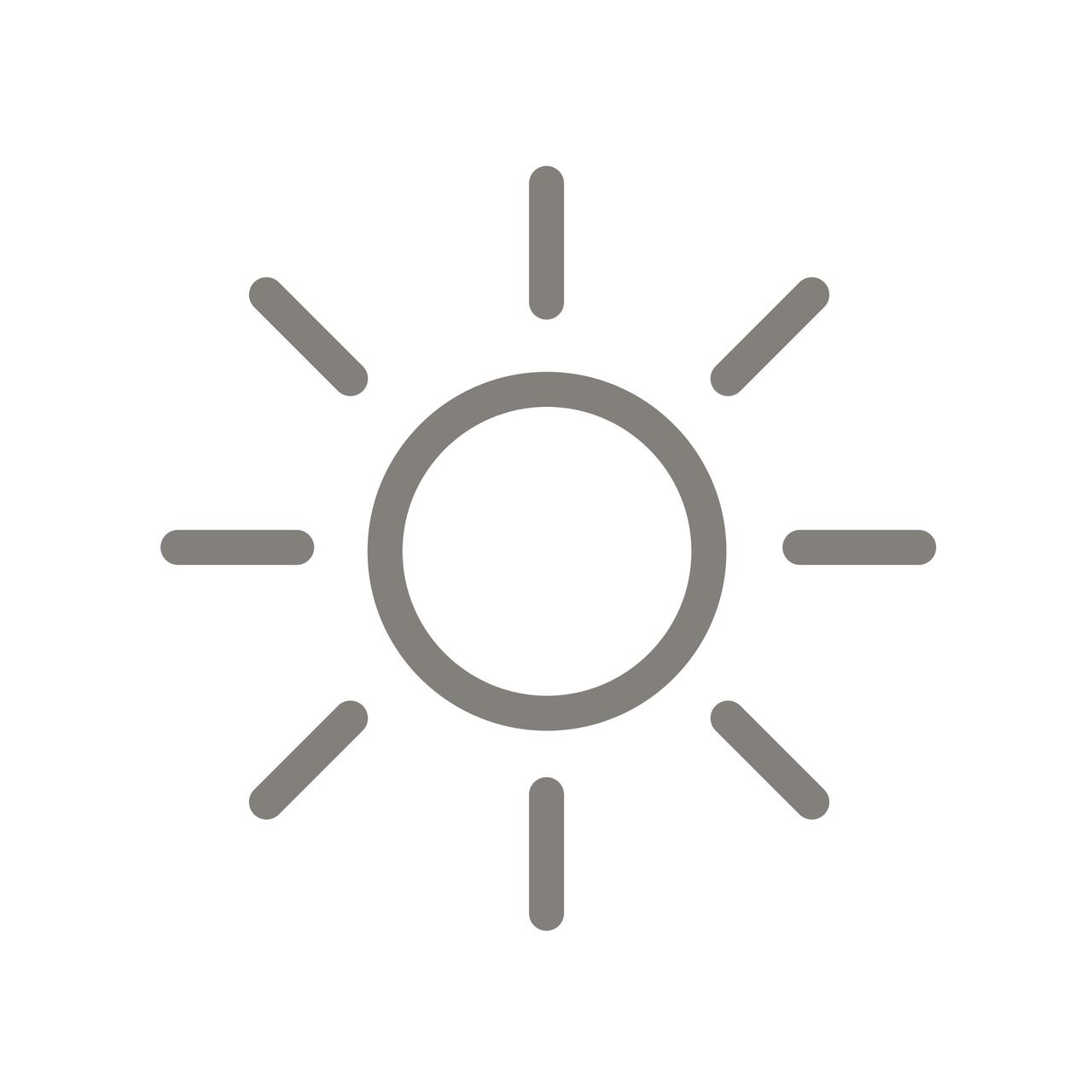 Solarbetrieben - mit Wandtaster