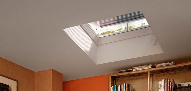 stores pour fenetres de toits plats