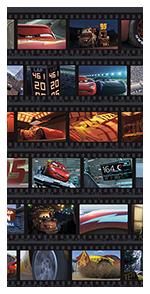 Orig Disney und VELUX Goodnight Collection Verdunkelungsrollo 4651 Cars Mond