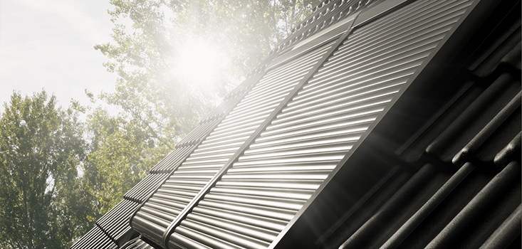VELUX rolluiken | Optimale privacy - isoleert in de winter - houdt de warmte buiten in de zomer