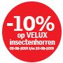 10% korting op VELUX Insectenhorren type ZIL