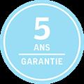 5 ans garantie